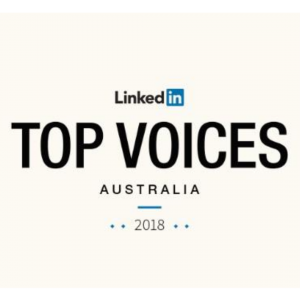 Stacey Ashley LinkedIn Top Voices Australia 2018