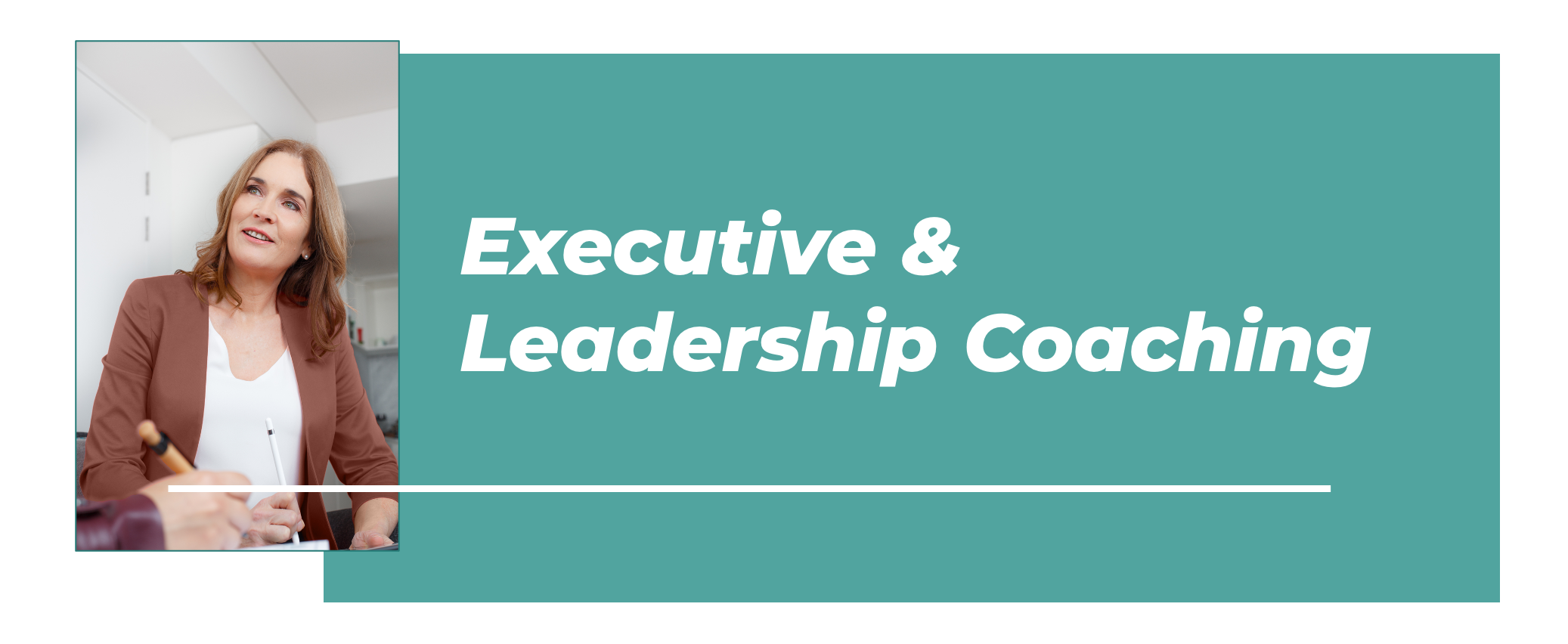 Executive Leadership Coaching Banner